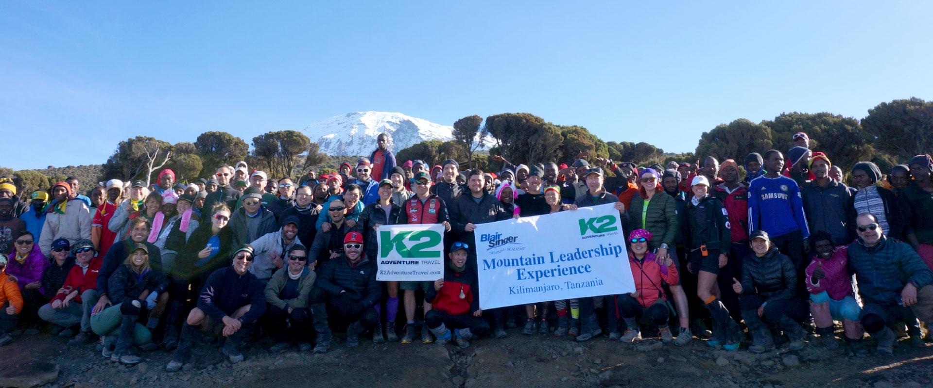 K2 adventure climbers kilimanjaro