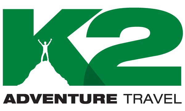 k2 adventure travel logo