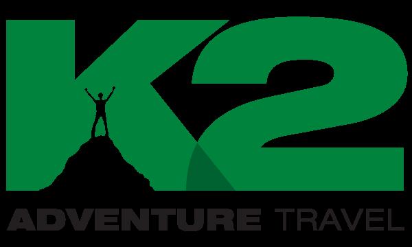 k2 adventure travel logo