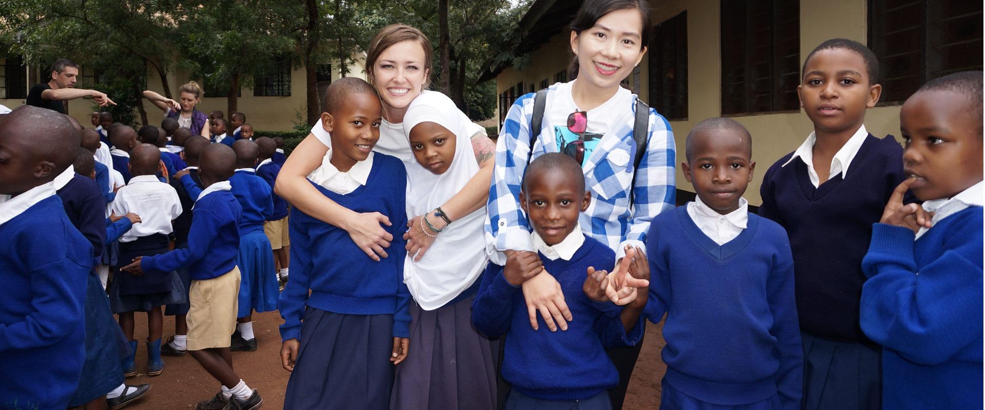 K2 Volunteers in Tanzania