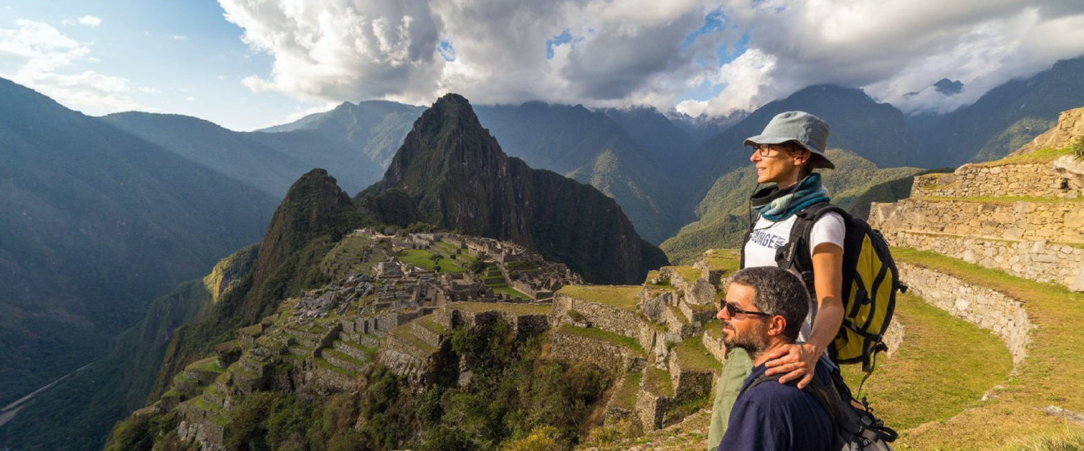 machu picchu hikers in peru